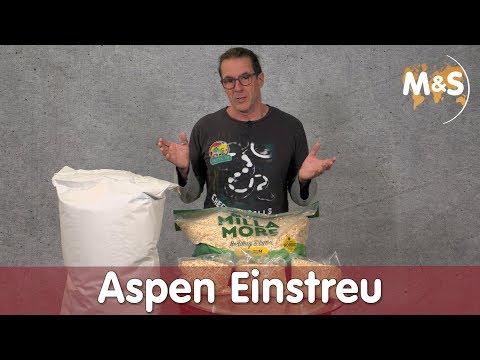 Aspen Einstreu | Gutschein + Gewinnspiel | neues Buch | Reptil TV