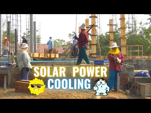 BUILDING A HOUSE IN THAILAND ? solar & cooling tips/options !!!