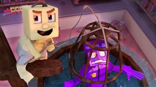 Minecraft | MONSTER BABY DAYCARE - Crazy Animatronic Drowns THE BABY SITTER! (Minecraft Roleplay)