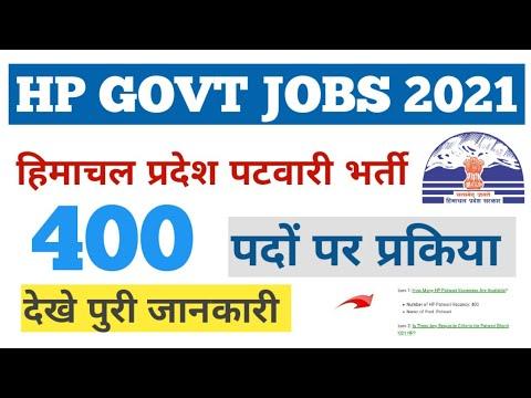 HP Patwari Recruitment 2021|| हिमाचल प्रदेश पटवारी भर्ती 2021|HP Patwari Latest Update||