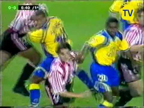Athletic Club de Bilbao 0 UD Las Palmas 3   Partido Completo ( Primera PARTE) Canal +    2000