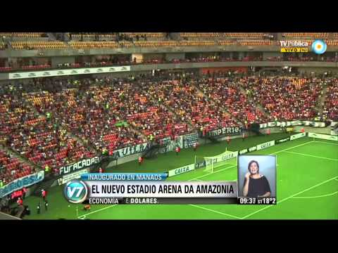 Visión 7: El nuevo estadio Arena da Amazonia