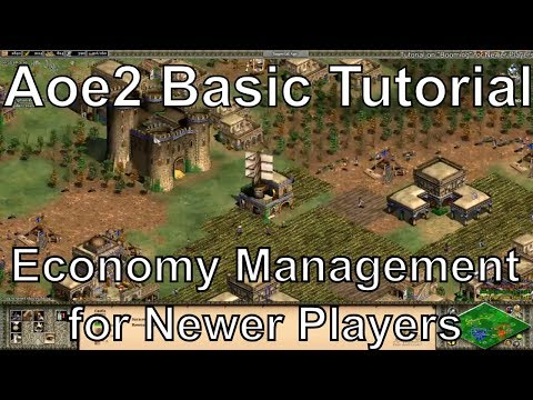 """Aoe2 HD: Tutorial: """"Booming"""" and Economy Management for Newer Players"""