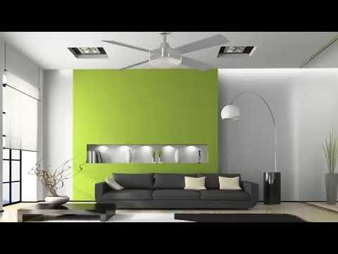 Ideas de pintura para interiores youtube - Pintura decorativa para paredes ...