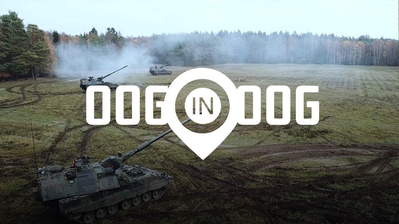 Met de artillerie op schietoefening in Duitsland | Oog in Oog