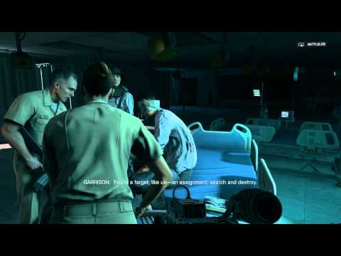 "Battlefield 4 - Suez: Find Garrison: Pac Lives! Scene, Jin Jie ""Brothers Stand Down"" Sequence"