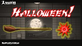 SHADOW FIGHT 2 HALLOWEEN 2015: DEVIL'S BROOM SHOWCASE! (Shogun Fight)