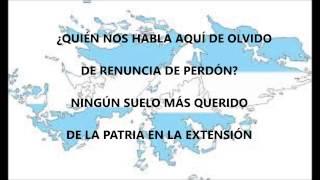Marcha Las Malvinas (con letra) YouTube Videos