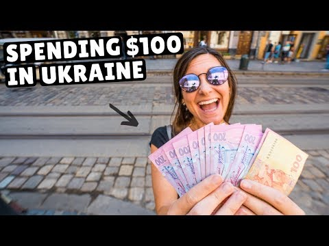 SPENDING $100 In UKRAINE (incredible Value For Travelers)