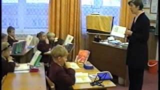 """1999 Урок чтения по произведению Л.Н.Толстого """"Косточка"""""""