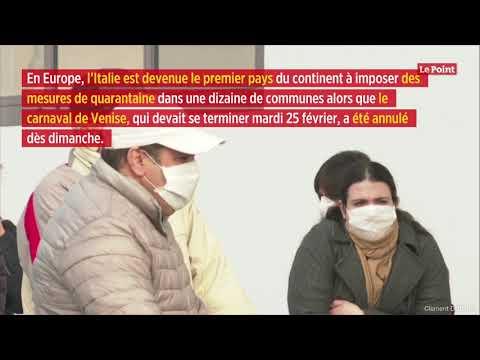 Coronavirus: la contamination s'accélère