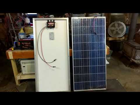 Connecting Wires to Solar Panels