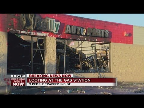 Morning After: O'Reilly Auto Parts Store Destroyed