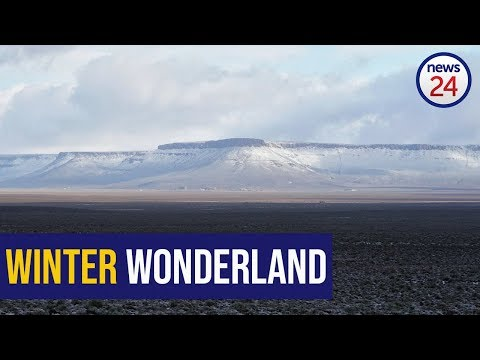 WATCH: Snow transforms Cape mountains into winter wonderland