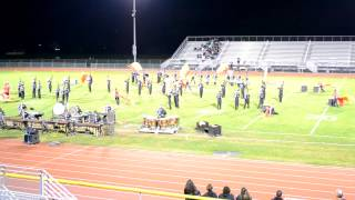 Old Bridge Marching Band Competition Oct 6 2012