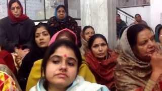 Bhajan Master Natha Singh,Sangeet-Samraat,& sung by Tarlok Ji,Krishna Mandir Sabha,Shahabad Markanda