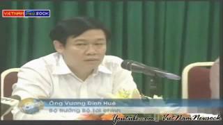 sock xăng dầu- Bộ trưởng Bộ Tài chính Vương Đình Huệ