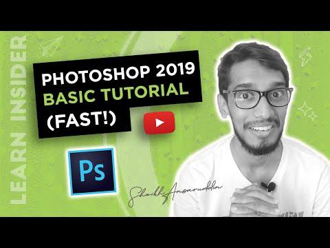 Photoshop Basic Tutorial | Photoshop Tutorial In Hindi/English thumbnail