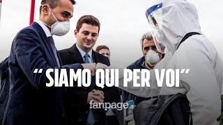 """Coronavirus, arrivati 30 medici dall'Albania: """"Noi non dimentichiamo. L'Italia deve vincere!"""""""