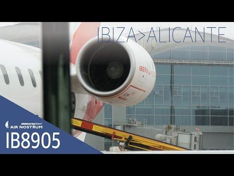 IB8905 Ibiza a Alicante (Iberia Regional operado por AirNostrum)