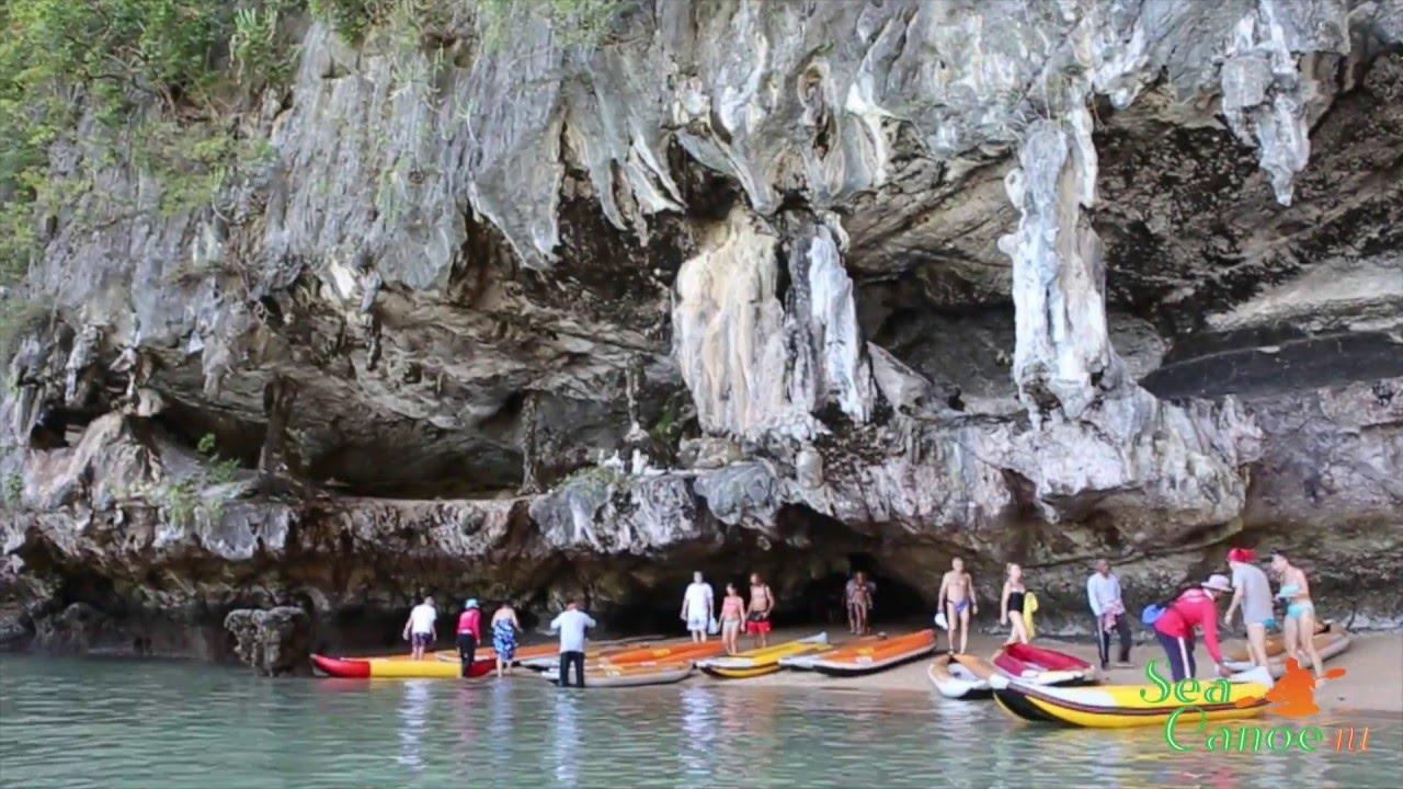 Exploration Of James Bond Island Phang Nga S Caves On A Canoe