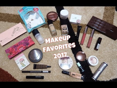 MAKEUP FAVORITES OF 2017 (PHILIPPINES)