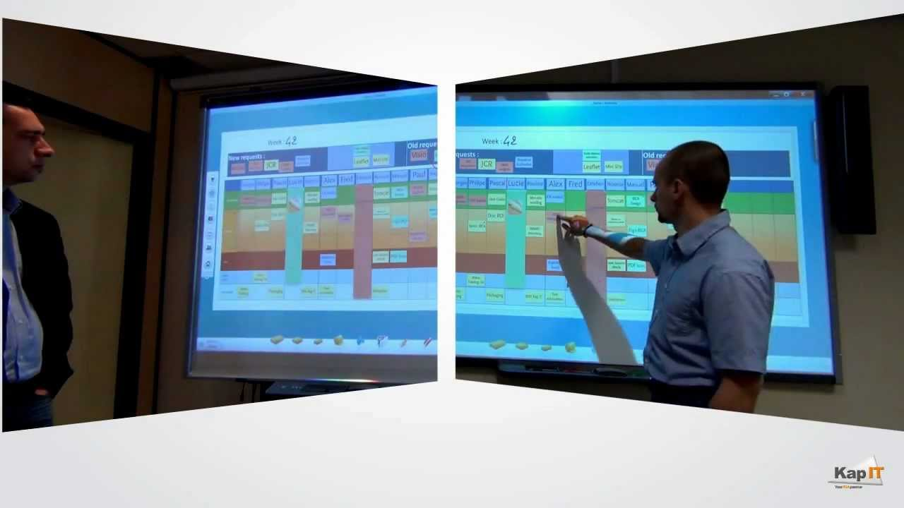 Overview Of Using Smart Boards With Iobeya Digital Visual