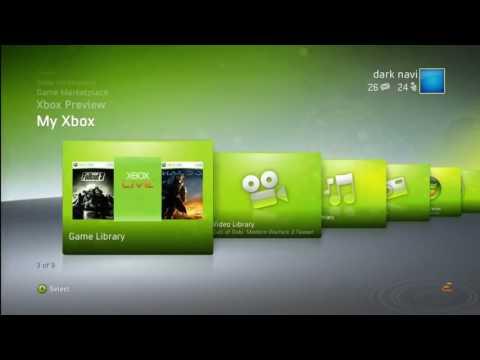 XBOX 360 Dashboard 2009