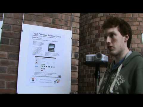 James Bennet describes his Honours Project for SoC Computing Degree Show 2012