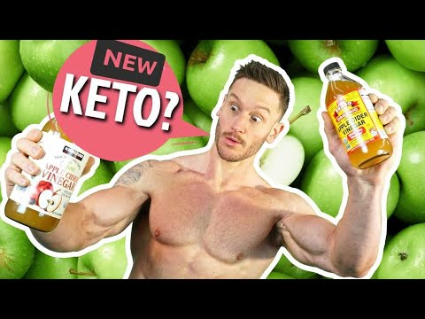 New Apple Cider Vinegar Study - Effect on Ketosis