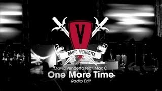 David Vendetta - One More Time (Radio Edit)