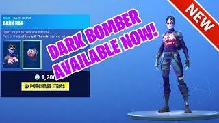 *NEW* DARK BOMBER SKIN AVAILABLE NOW! [ITEM SHOP] FORTNITE BATTLE ROYALE