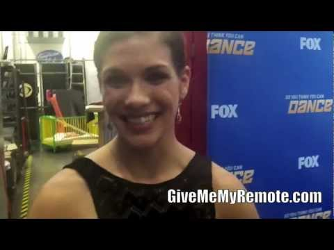 SO YOU THINK YOU CAN DANCE: Allison Holker Talks About the Top 8