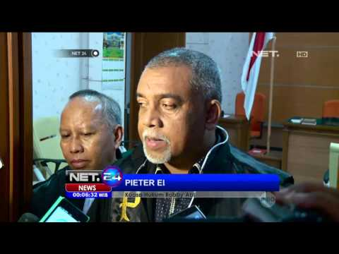 Sidang Putusan Vonis Robby Abbas Di Pengadilan Negeri Jakarta Selatan - NET24