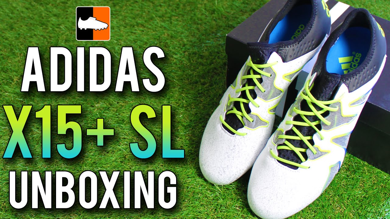 d5cb30f404b adidas X15+ SL Unboxing