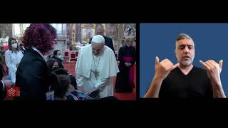 April 11 2021 Holy Mass and Regina Coeli Pope Francis (ASL)