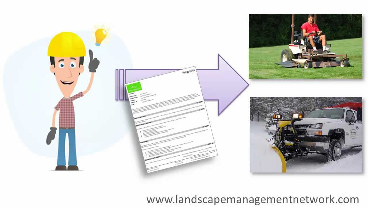 landscape estimating software grounds maintenance lawn care and