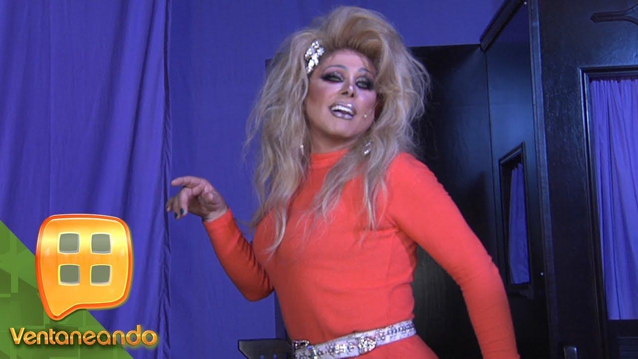 Increíble Transformación Ernesto Laguardia En Shock Al Verse Caracterizado Como Una Chica Trans