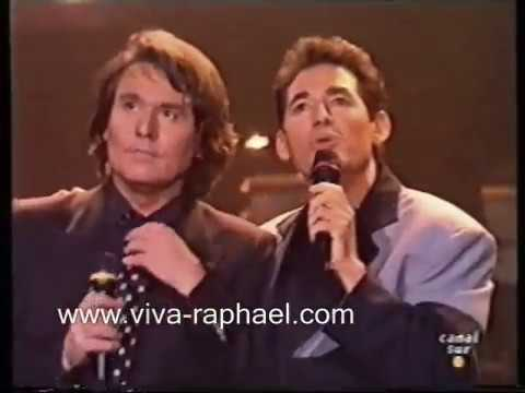 """Raphael: """"Fiebre de Sur"""" con Miguel Ríos y algo mas. 1994"""