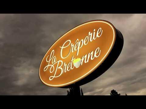 Enseigne Crêperie Bretonne - Publicity Shop
