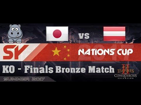AOE2 SY Nationscup | SL Bronze | Japan A vs Austria A