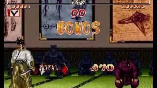 Samurai Shodown 2 JUBEI arcade run (parte 2)