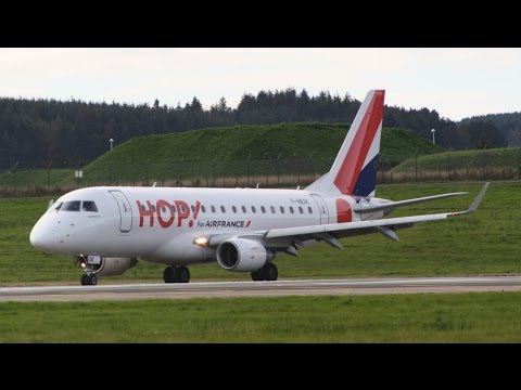 Aberdeen Airport Spotting | October 2014 (with ATC) HD