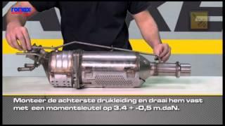 Romax DPF Eolys montage instructies