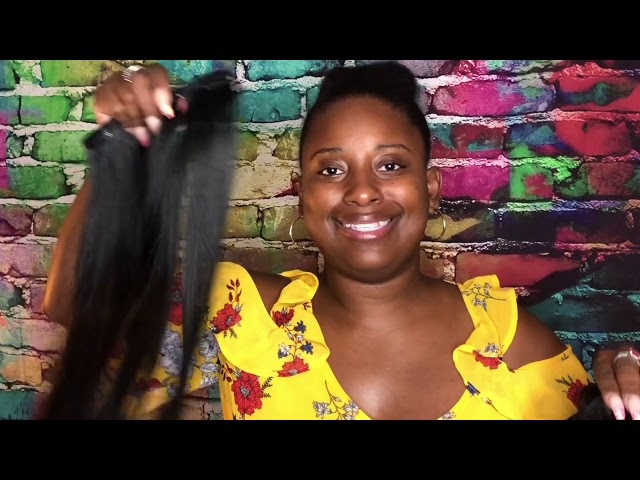 Reviewing TaraHair.com hair extensions sold on USAhair.com || Vicariously Me