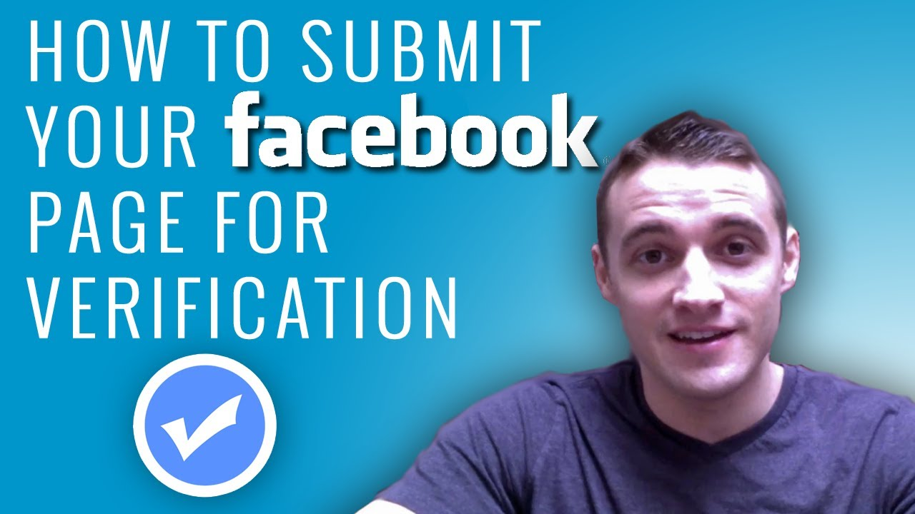 How to get my facebook account verified
