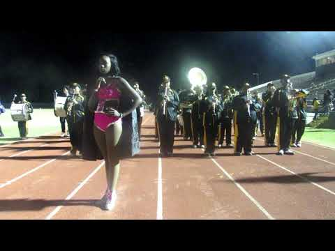 Lafayette High School Marching Band Post Selma High Battle Of The Bands Field Battle (2017)
