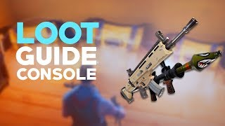 Loot Guide - Fortnite CONSOLE (Shields Vs Medkits)