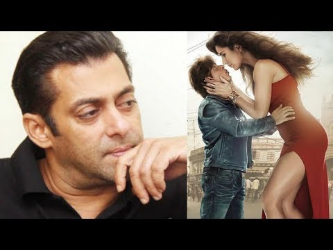 Salman Khan Reaction On ZERO Trailer ft SRK, Katrina Kaif And Anushka Sharma