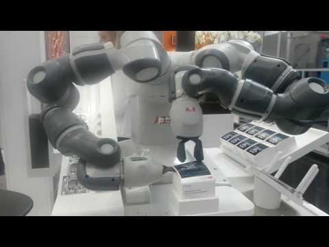 ABB's YuMi Your new employee at K-messe 2016 Düsseldorf